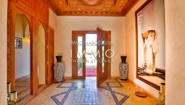 Vente villa Contemporain immobilier luxe à vendre marrakech Marrakech Extérieur Route Sidi Abdellah Ghiat