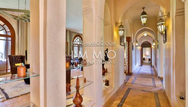 villa vente Moderne luxe Marrakech Extérieur Route Sidi Abdellah Ghiat