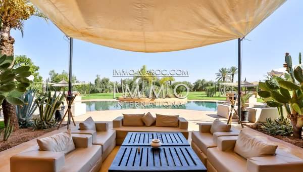 Achat villa Prestige Maison d'hôtes Marrakech Extérieur Route Ourika