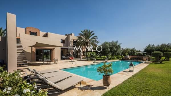 villa achat Contemporain luxe Marrakech Extérieur Route Ourika