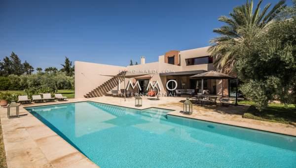 Achat villa Contemporain Marrakech Extérieur Route Ourika