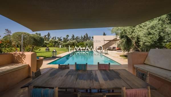 Vente maison Moderne luxe Marrakech Extérieur Route Ourika