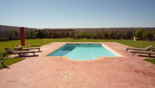 Location maison Marocain épuré Marrakech Extérieur Route Ourika