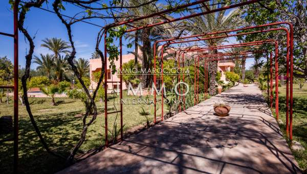 villa à vendre a la palmeraie