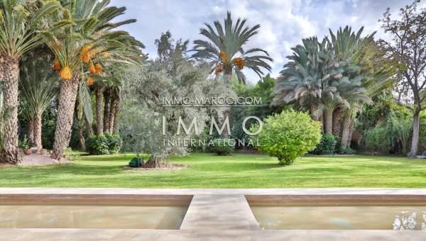 Vente maison Contemporain luxe Marrakech Palmeraie