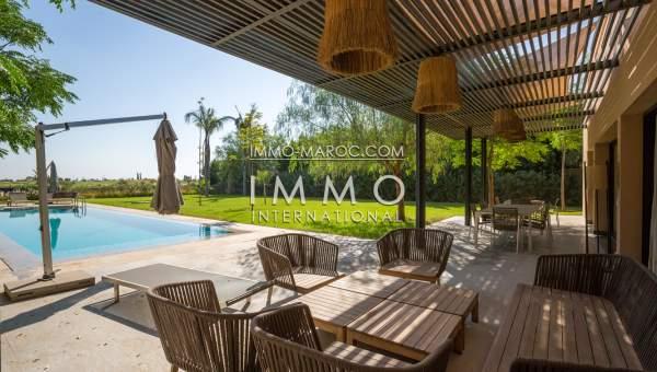 Vente villa Moderne Marrakech Golfs Al Maaden