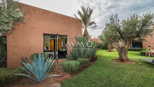 Achat villa Moderne luxe Marrakech Golfs Royal Palm