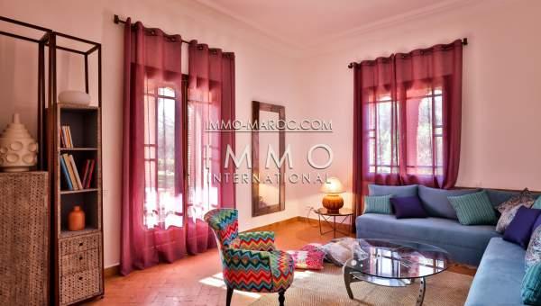 acheter maison Marocain luxe Marrakech Palmeraie