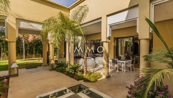 Maison à vendre Contemporain luxe Marrakech Golfs Amelkis