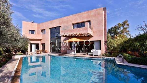 Maison à vendre Moderne Prestige Marrakech Centre ville Targa