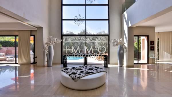 Vente villa Moderne haut de gamme Marrakech Centre ville Targa