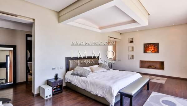 Achat villa Contemporain luxe Marrakech Centre ville Targa
