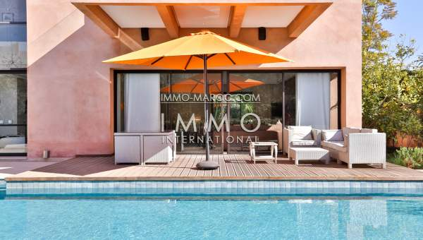 Villa à vendre Contemporain luxe Marrakech Centre ville Targa