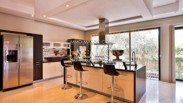 Vente maison Contemporain luxe Marrakech Centre ville Targa