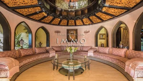 Vente maison Marocain immobilier luxe à vendre marrakech Marrakech Golfs Amelkis