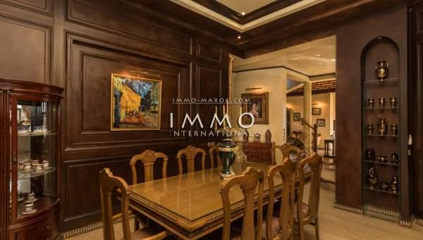 Villa à vendre Marocain propriete luxe marrakech à vendre Marrakech Golfs Amelkis