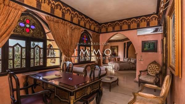 villa achat Marocain Marrakech Golfs Amelkis