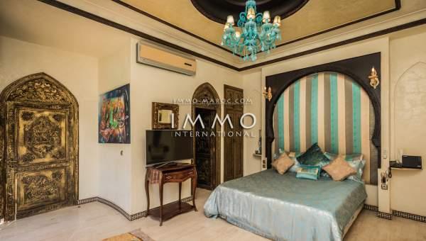 Achat villa Marocain prestige a vendre Marrakech Golfs Amelkis