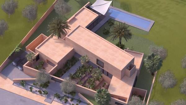 Vente villa contemporaine premiere ligne Golfs Amelkis