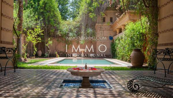 Villa à vendre Marocain haut de gamme Marrakech Golfs Amelkis