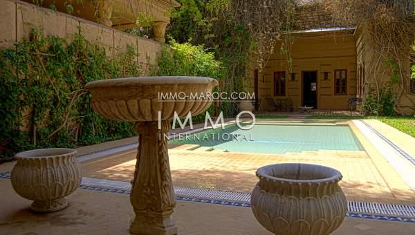 Achat villa Marocain haut de gamme Marrakech Golfs Amelkis