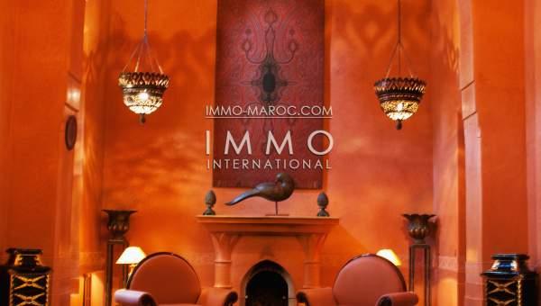 Vente maison Marocain luxe Marrakech Golfs Amelkis