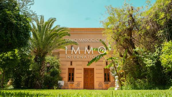 Vente villa Marocain Prestige Marrakech Golfs Amelkis