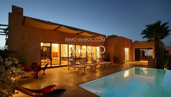 Achat villa Marocain propriete luxe marrakech à vendre Marrakech Golfs Amelkis