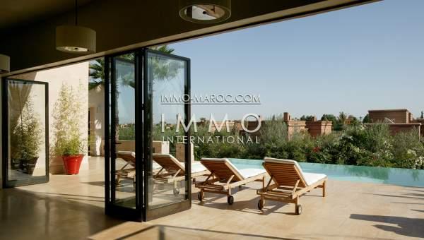 Villa à vendre Marocain de prestige Marrakech Golfs Amelkis