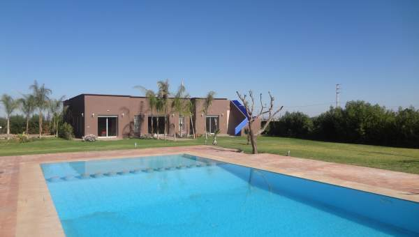 Vente maison Marocain épuré Marrakech Extérieur Route Sidi Abdellah Ghiat