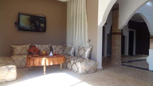 Villa à vendre Marocain épuré Marrakech Extérieur Route Sidi Abdellah Ghiat