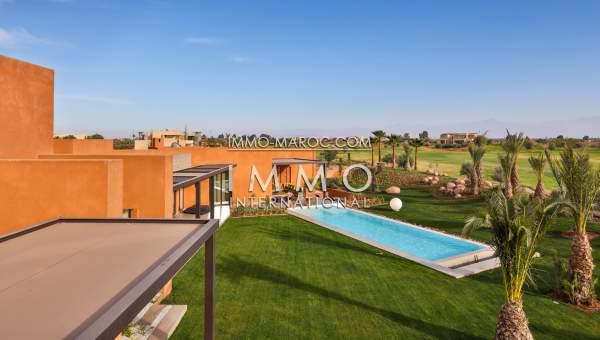 Vente villa Moderne prestige a vendre Marrakech Golfs Amelkis