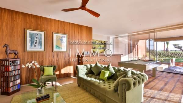 Villa à vendre Contemporain luxe Marrakech Golfs Amelkis