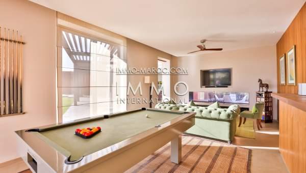 Vente villa Contemporain luxe Marrakech Golfs Amelkis