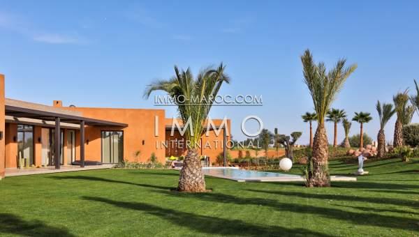 Vente villa Moderne biens de prestige marrakech Marrakech Golfs Amelkis