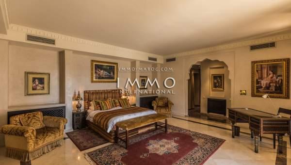 villa vente Marocain épuré immobilier luxe à vendre marrakech Marrakech Golfs Amelkis