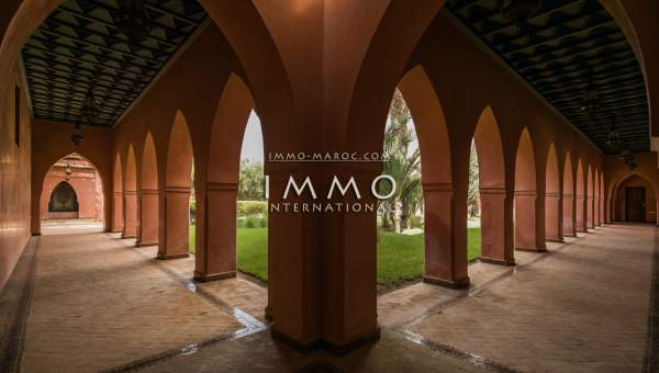 villa achat Marocain luxueuses Marrakech Palmeraie Bab Atlas