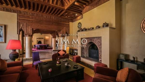villa vente Marocain luxe Marrakech Palmeraie Bab Atlas