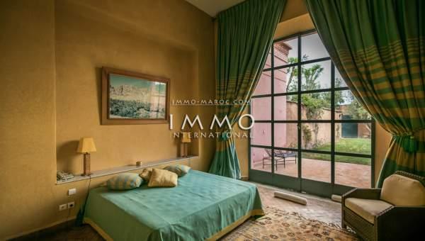 Vente maison Marocain agence immobiliere de luxe marrakech Marrakech Palmeraie Bab Atlas
