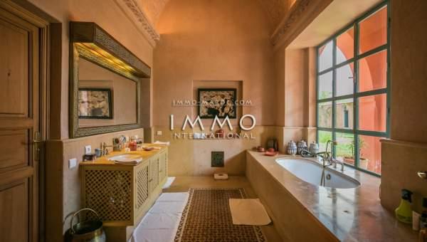 Achat villa Marocain agence immobiliere de luxe marrakech Marrakech Palmeraie Bab Atlas