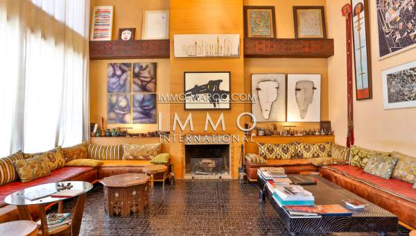 Achat villa Moderne Marocain biens de prestige Marrakech Palmeraie Circuit Palmeraie