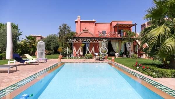 Maison à vendre Marocain épuré Marrakech Golfs Autres golfs