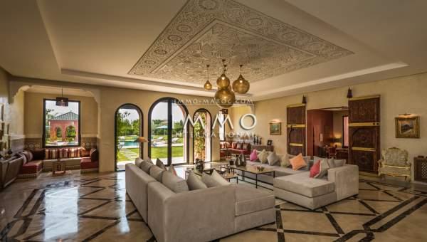 villa achat Marocain agence immobiliere de luxe marrakech Marrakech Extérieur Route Ourika