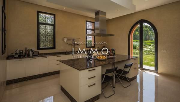 acheter maison Marocain luxe Marrakech Extérieur Route Ourika