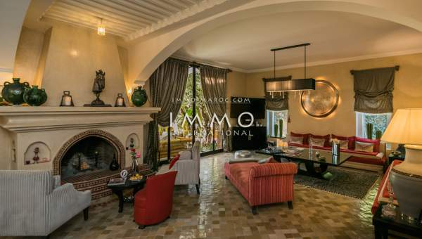 Achat villa Marocain Prestige Marrakech Extérieur Route Ouarzazate