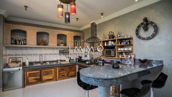 acheter maison Marocain luxe Marrakech Extérieur Route Ouarzazate