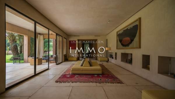 villa achat Moderne de prestige Marrakech Palmeraie