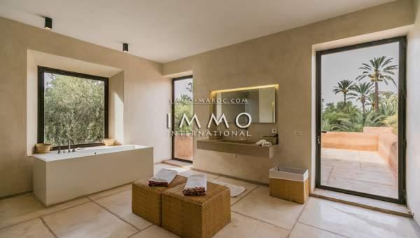 villa vente Contemporain luxueuses Marrakech Palmeraie