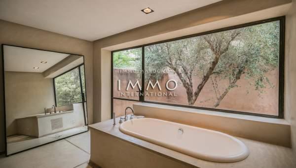 acheter maison Moderne haut de gamme Marrakech Palmeraie