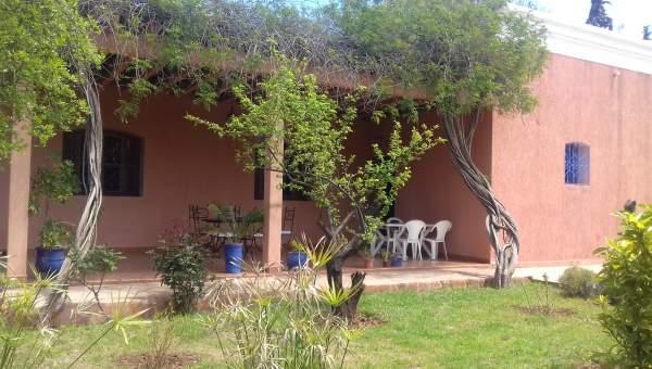 villa achat Marocain Marrakech Extérieur Route Ouarzazate